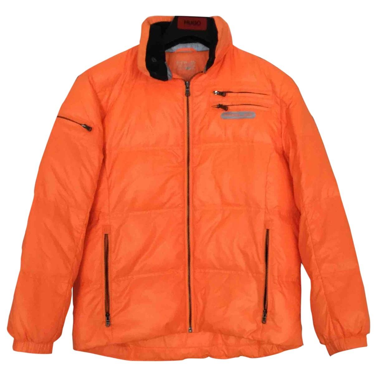 Polo Ralph Lauren - Blousons.Manteaux   pour enfant - orange