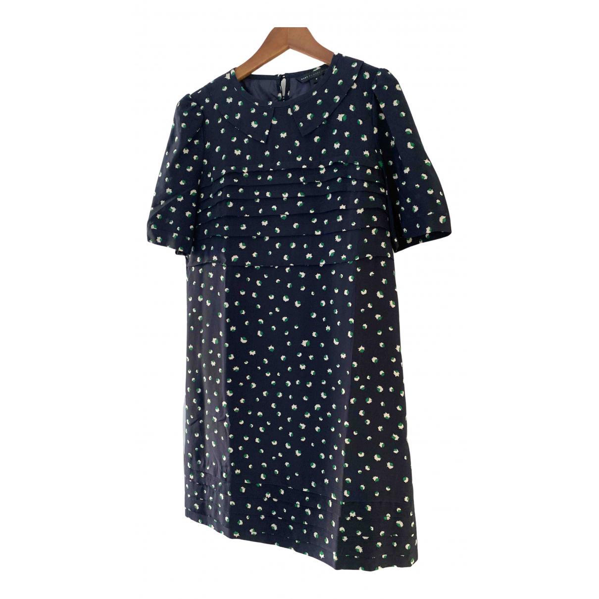 Marc By Marc Jacobs \N Kleid in  Blau Seide