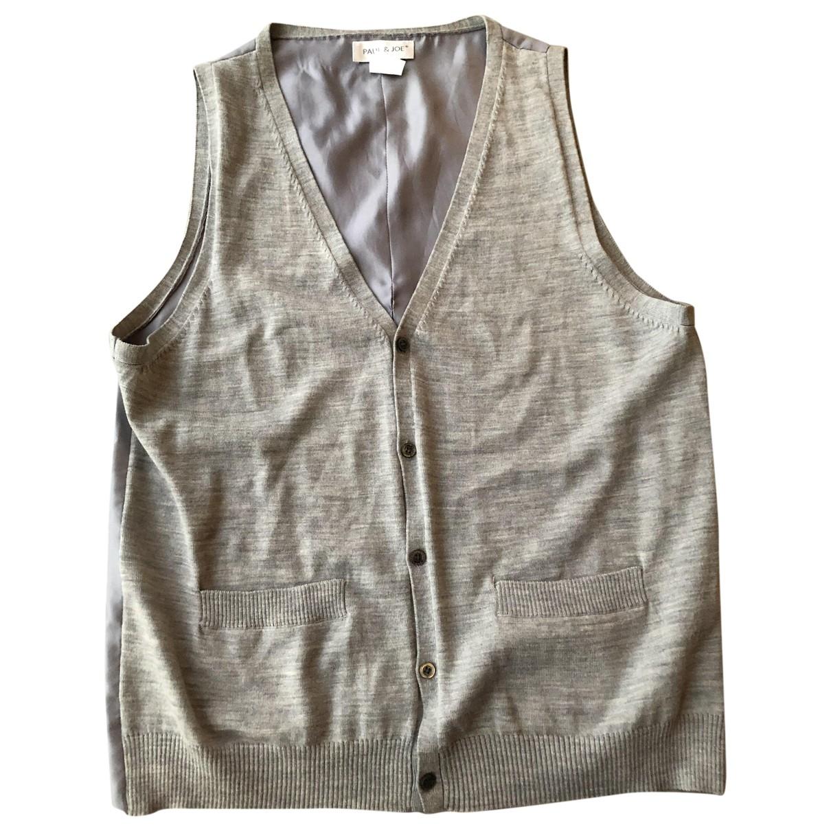 Paul & Joe \N Grey Wool Knitwear & Sweatshirts for Men XL International