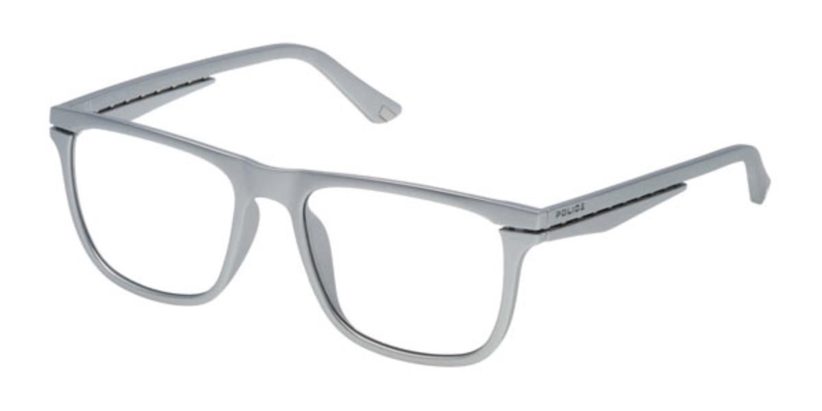 Police VPL485 ORBIT 1 0D56 Mens Glasses Gold Size 53 - Free Lenses - HSA/FSA Insurance - Blue Light Block Available