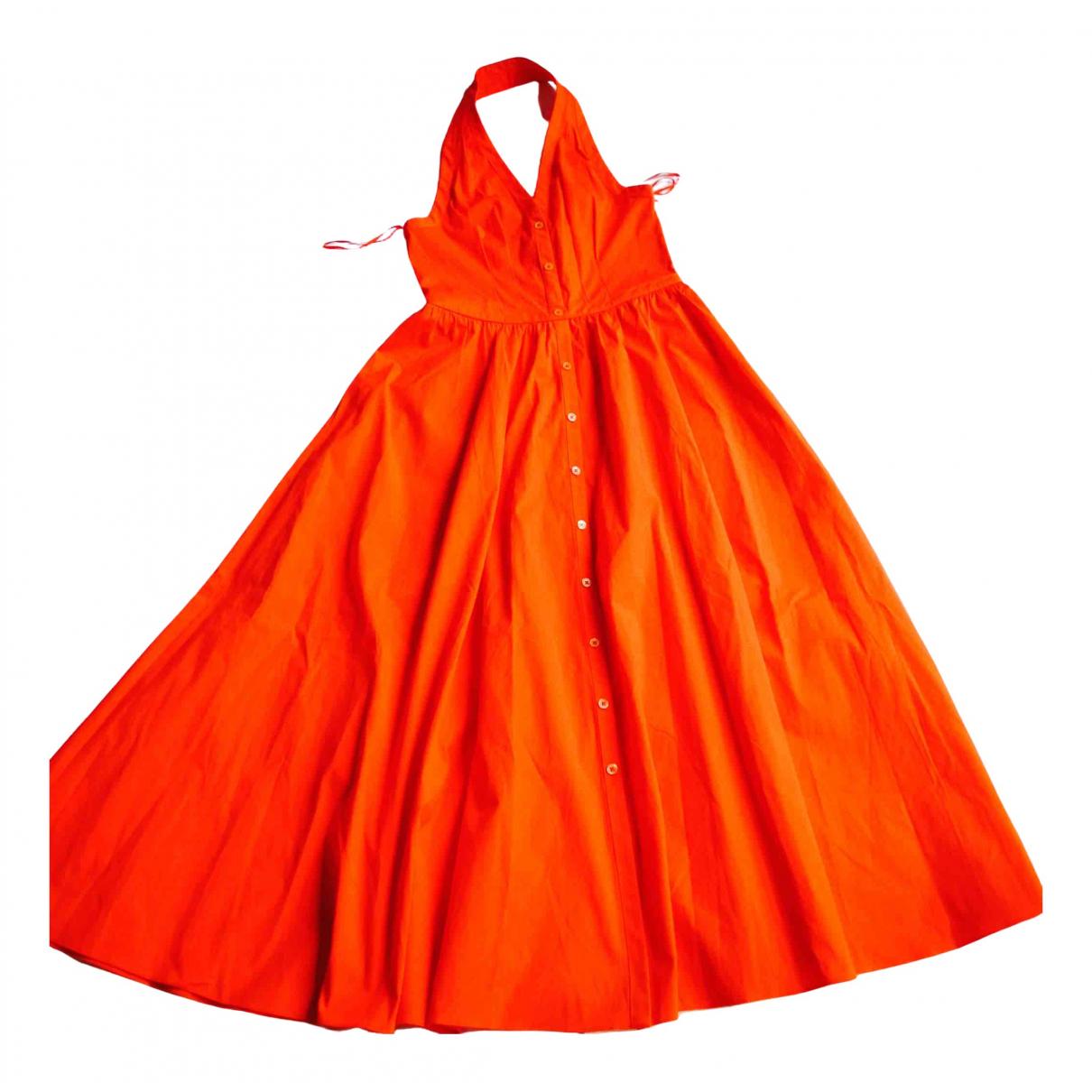 Michael Kors - Robe   pour femme en coton - orange