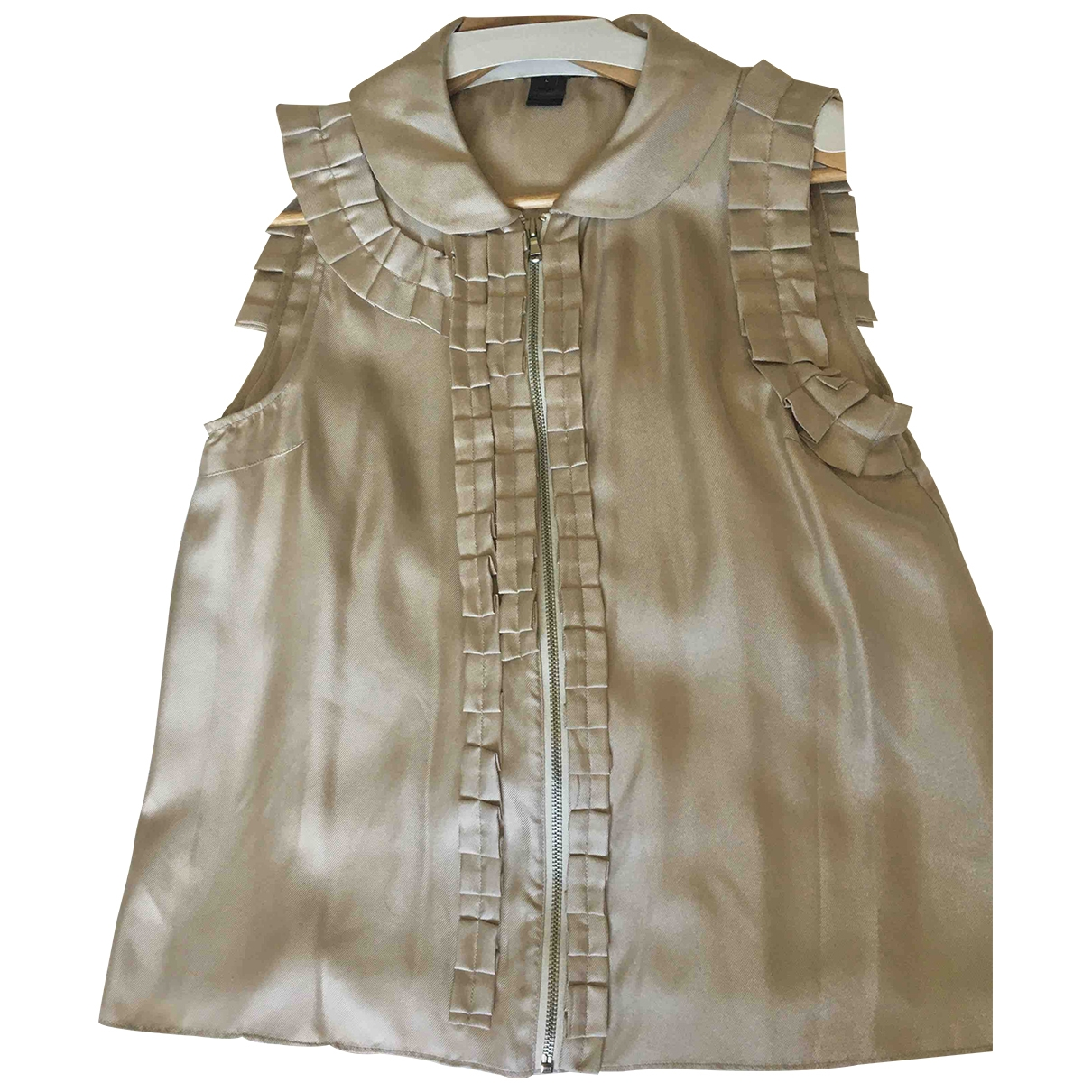 Marc By Marc Jacobs \N Gold Silk  top for Women L International