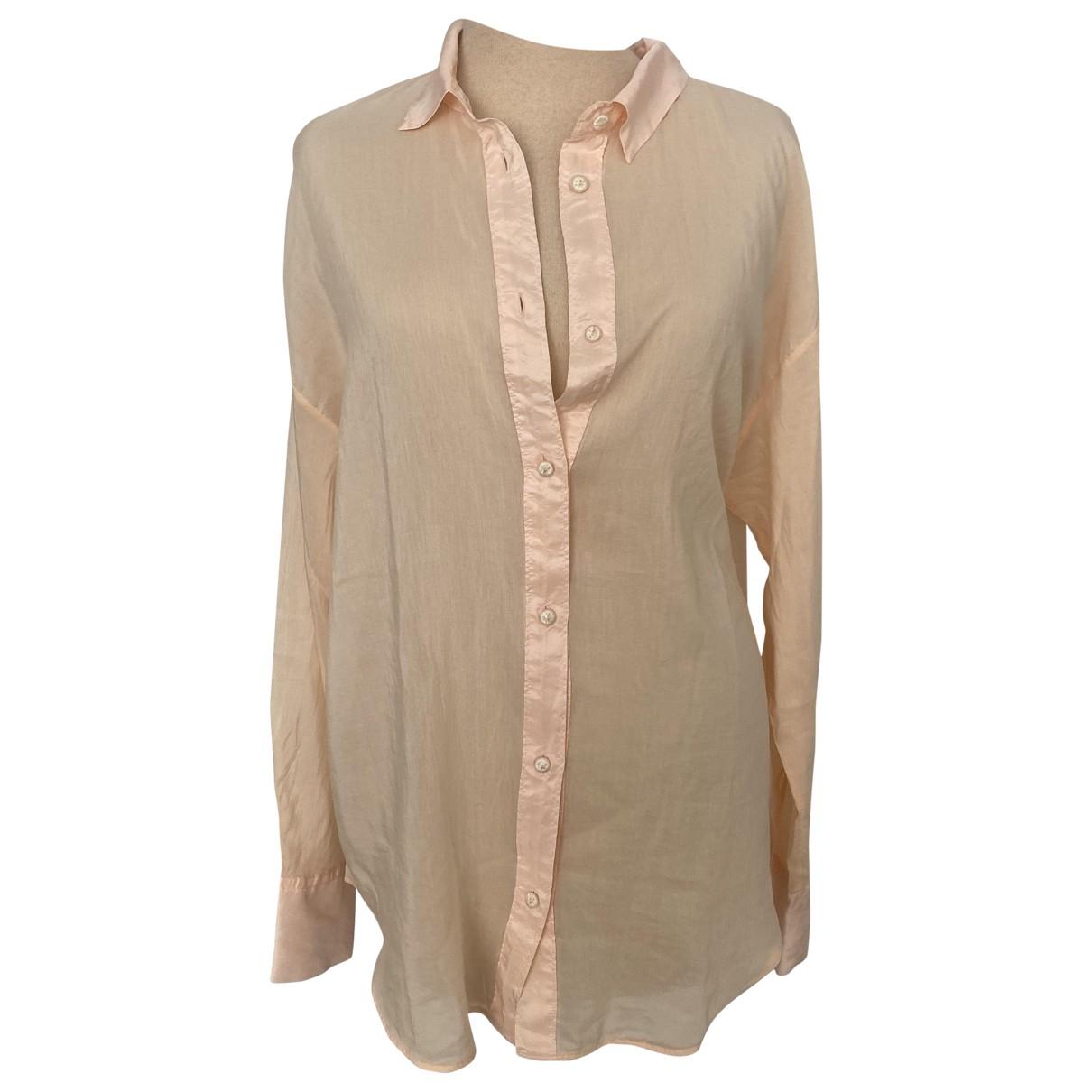 Forte_forte - Top   pour femme en coton - rose