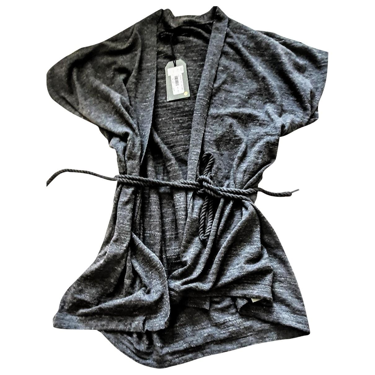 All Saints \N Grey Cotton Knitwear for Women S International