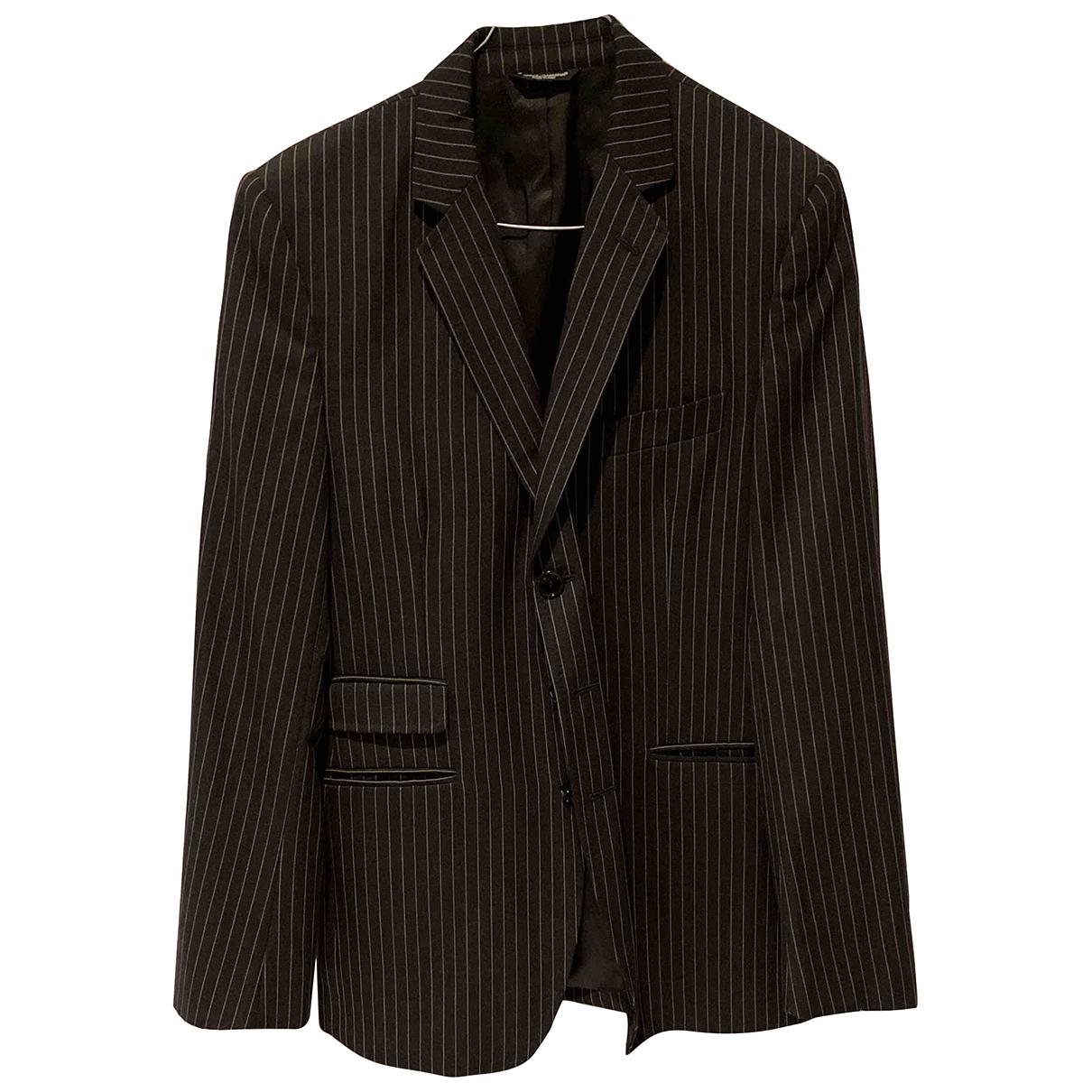 Dolce & Gabbana N Black Suits for Men 48 IT