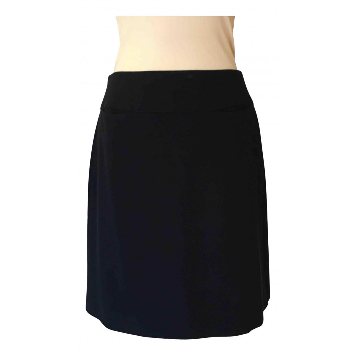 Emporio Armani N Blue Wool skirt for Women 42 IT