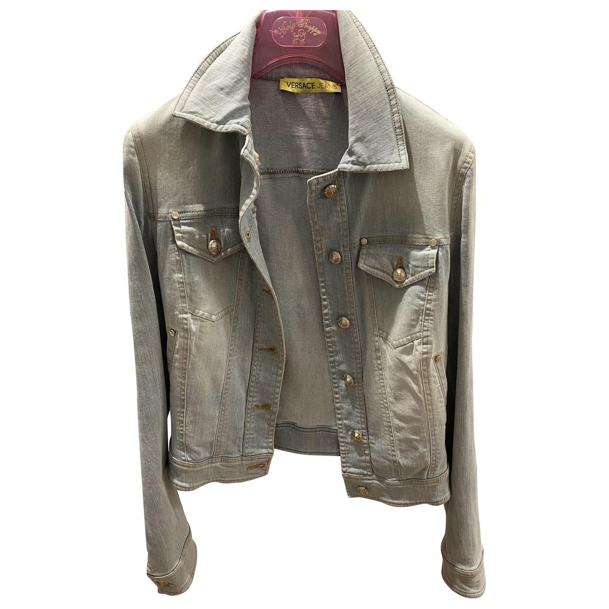 Versace Jeans \N Blue Denim - Jeans jacket for Women S International