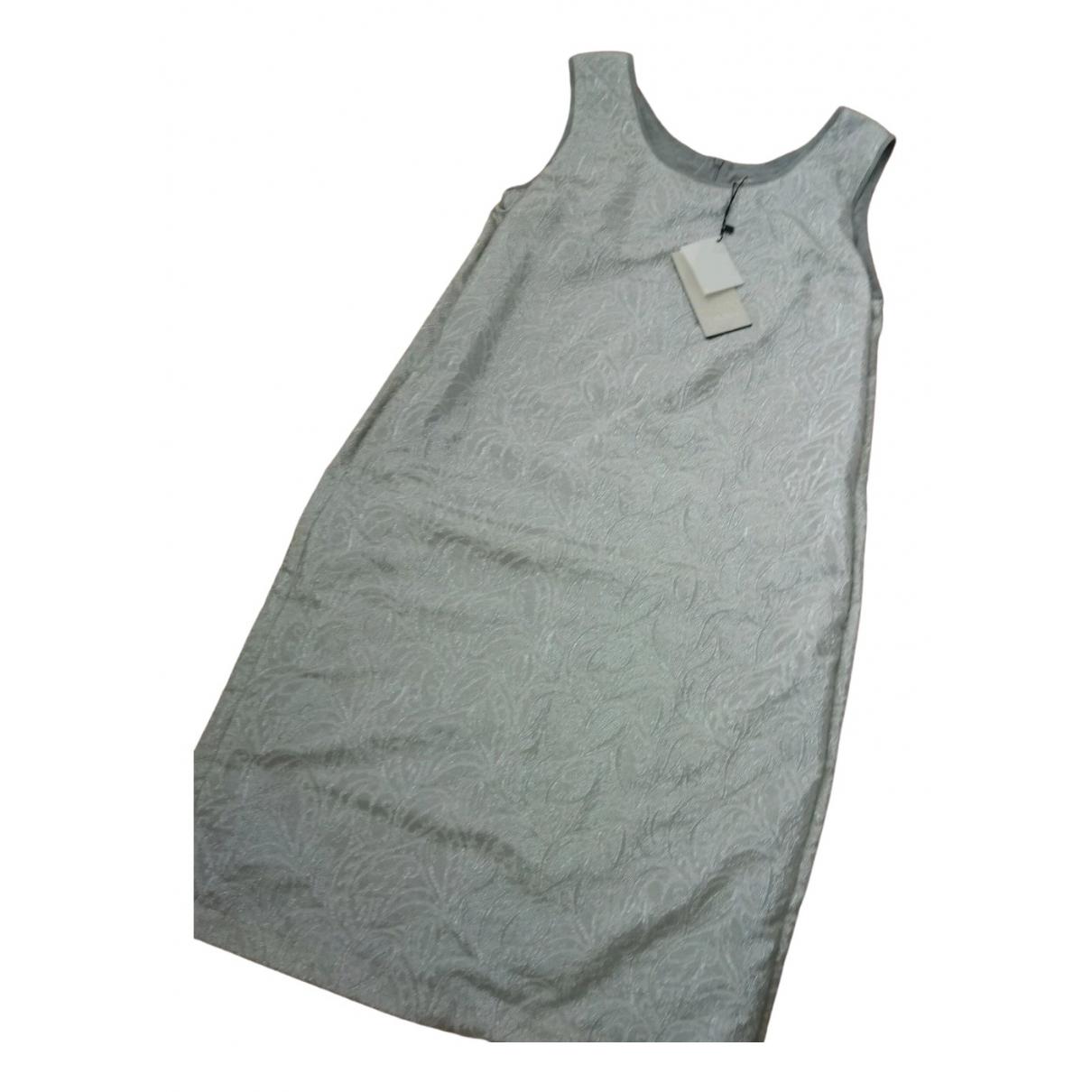Max Mara s \N Kleid in  Silber Polyester
