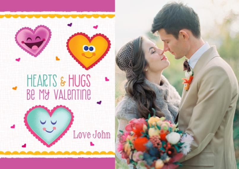Valentine's Cards 5x7 Cards, Standard Cardstock 85lb, Card & Stationery -Be My Valentine