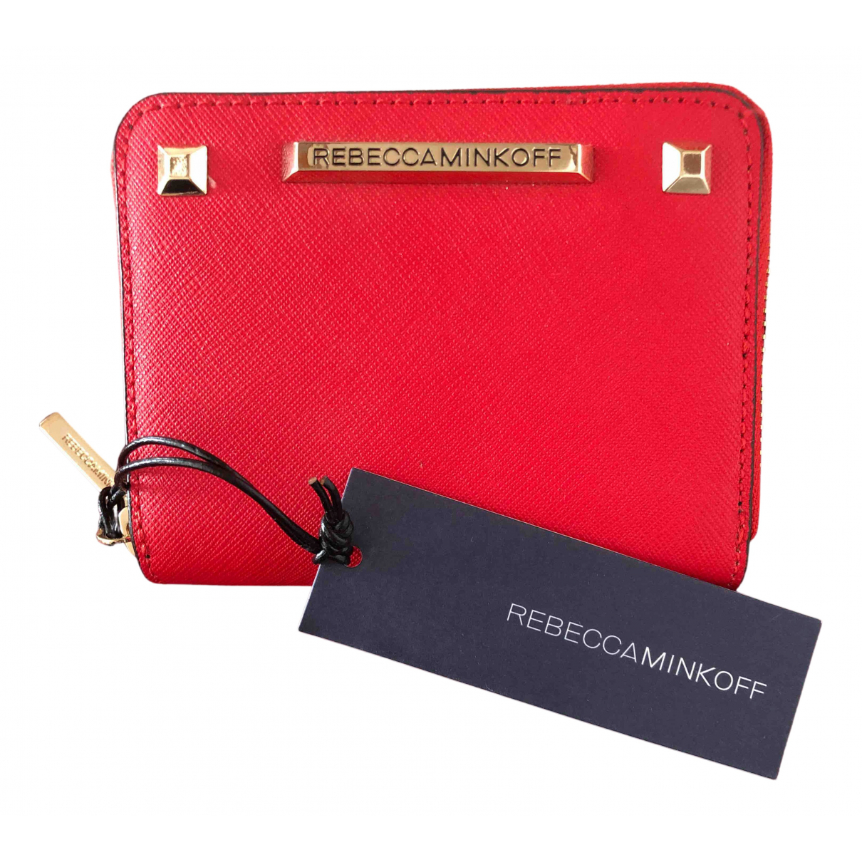 Rebecca Minkoff N Red Leather wallet for Women N