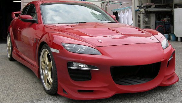 R Magic RMG41411110003 SE3P Before M|C Front Bumper Type2 No Painting Mazda RX-8 04-11