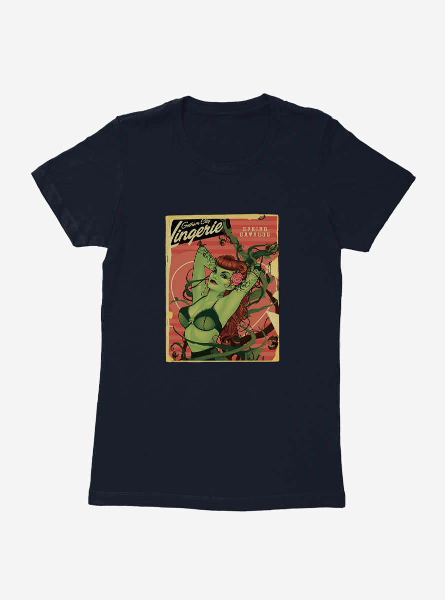 DC Comics Bombshells Poison Ivy Gotham City Lingerie Womens T-Shirt