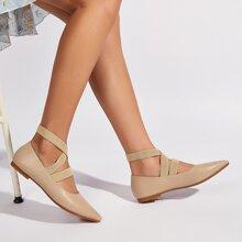 Minimalist Ankle Strap Flats