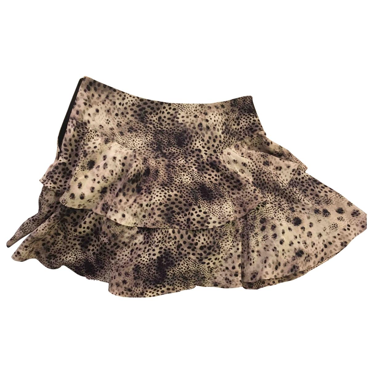 Sandro \N Multicolour Cotton skirt for Women 36 FR