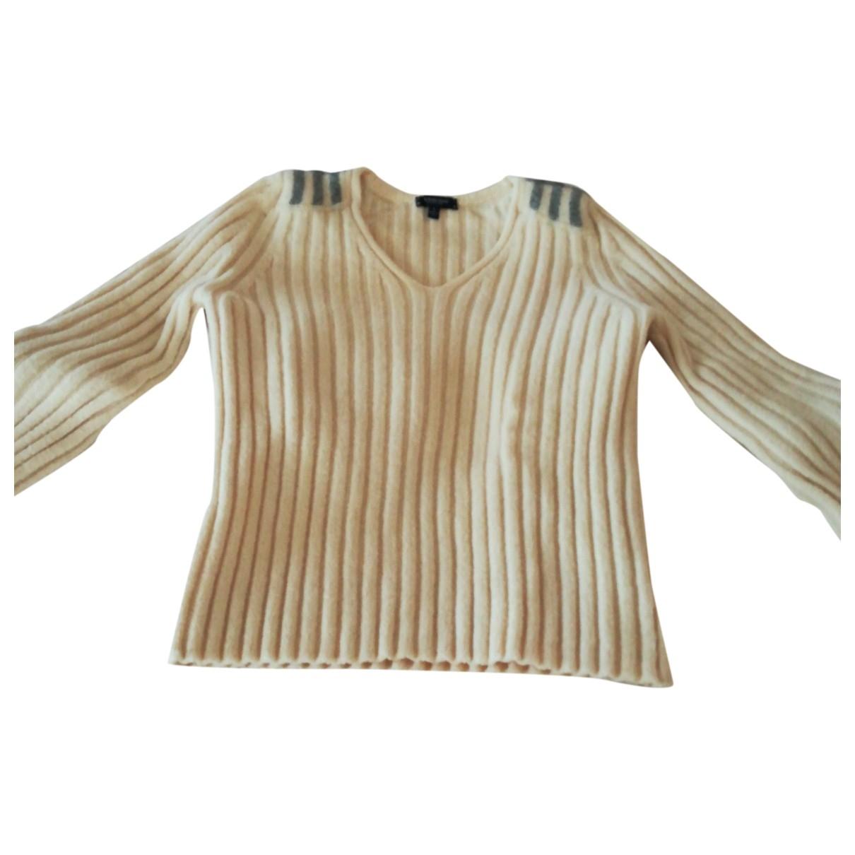 Burberry - Pull   pour femme en laine - beige