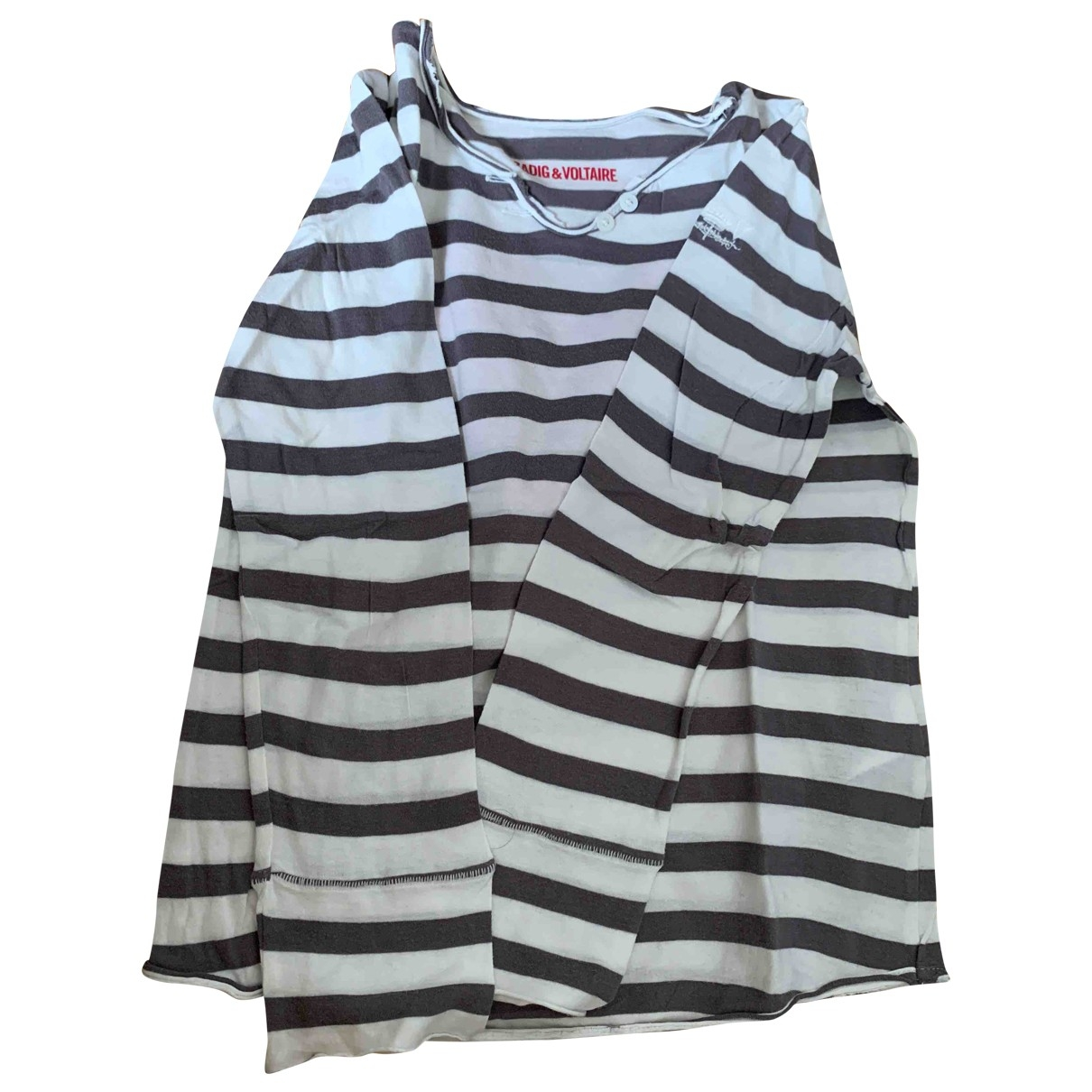 Zadig & Voltaire \N White Cotton  top for Kids 8 years - up to 128cm FR