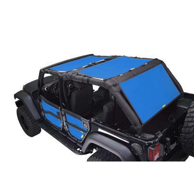 DirtyDog 4x4 Sun Screen Kit (Blue) - J4SS07F3BL