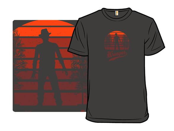 Horror Sunset: Krueger T Shirt