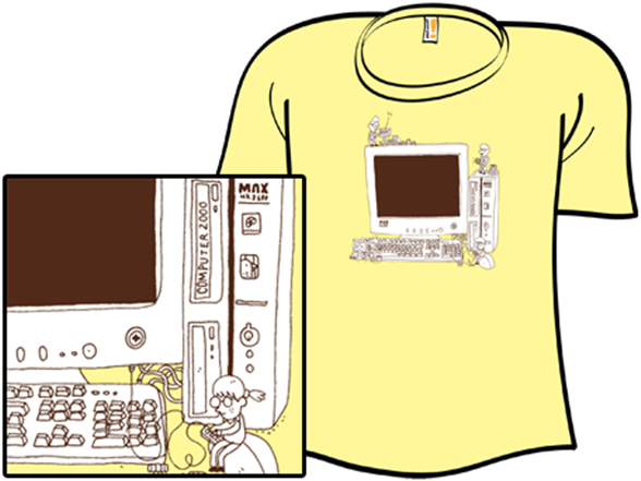 Computer 2000 T Shirt