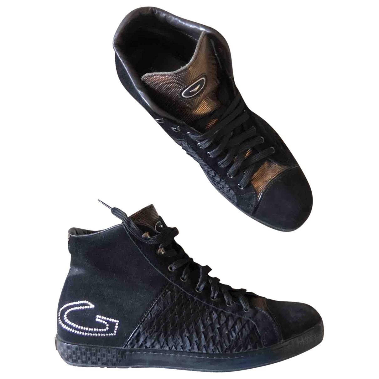 Alberto Guardiani - Boots   pour femme en cuir - noir