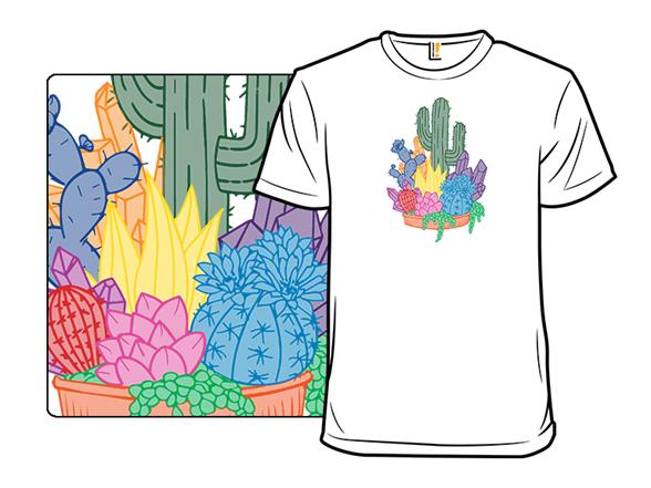 Crystal Cactus T Shirt