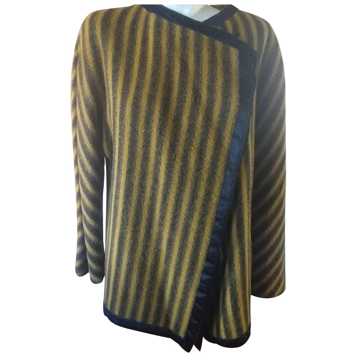 Gianfranco Ferre - Manteau   pour femme en laine - multicolore