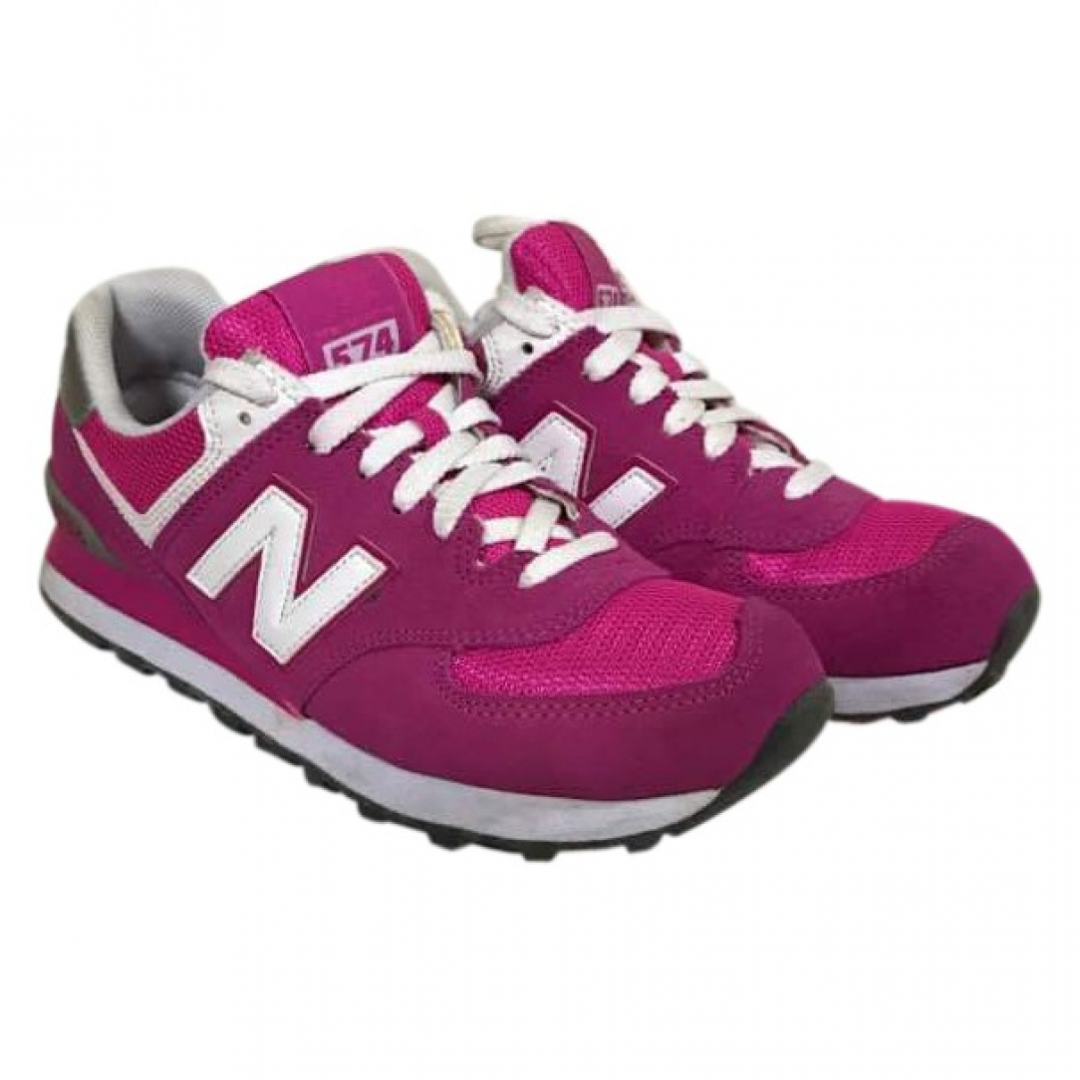 New Balance - Baskets   pour femme en velours