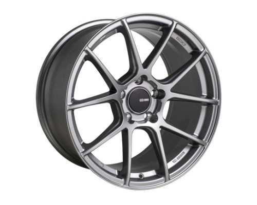Enkei TS-V Wheel Tuning Series Storm Grey 18x8 5x100 45mm