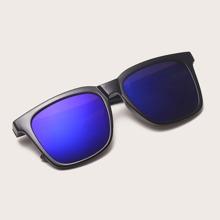Men Acrylic Frame Sunglasses