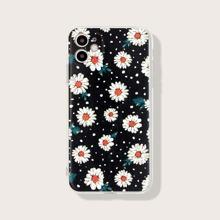 iPhone Schutzhuelle mit Gaensebluemchen Muster
