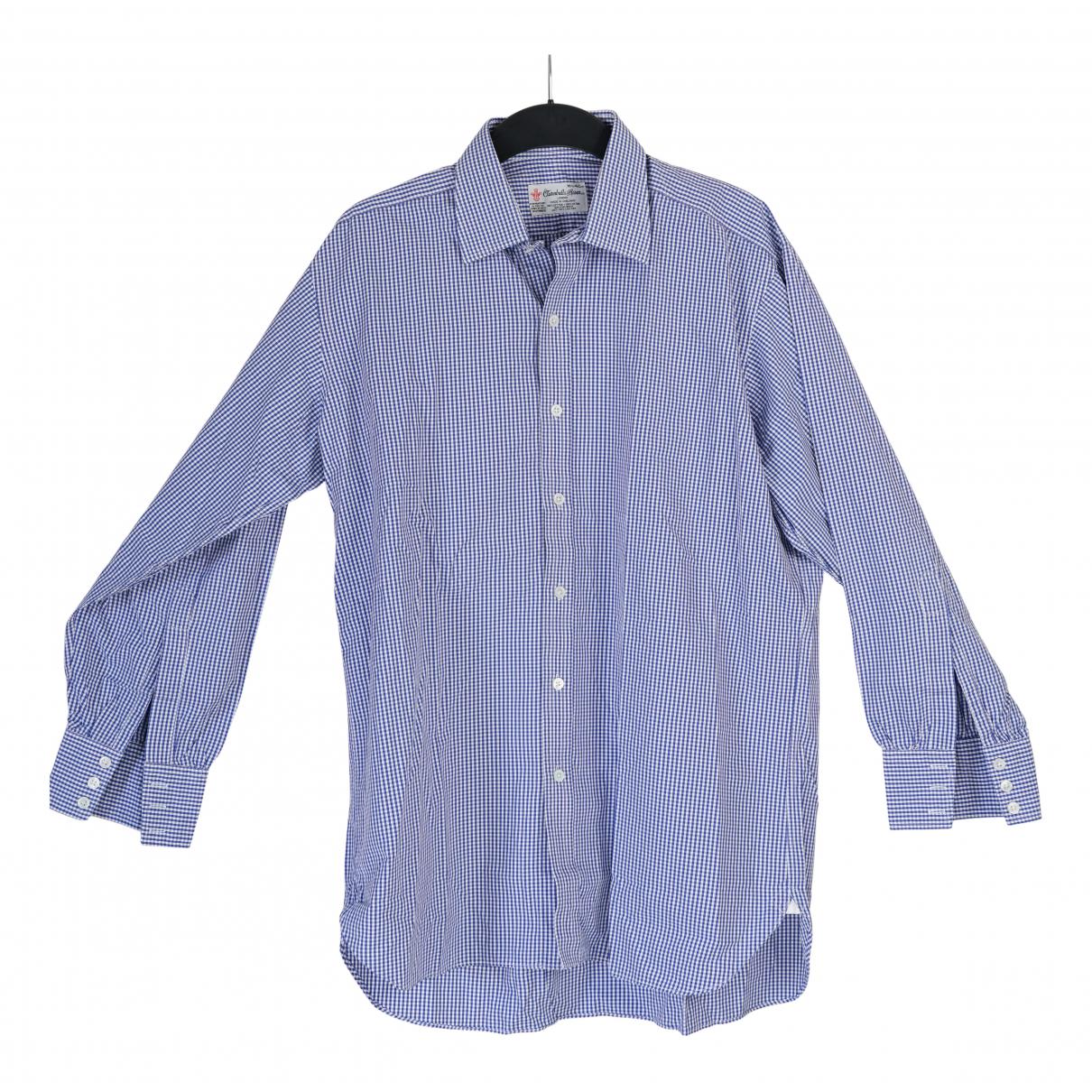 Turnbull & Asser - Chemises   pour homme en coton - bleu