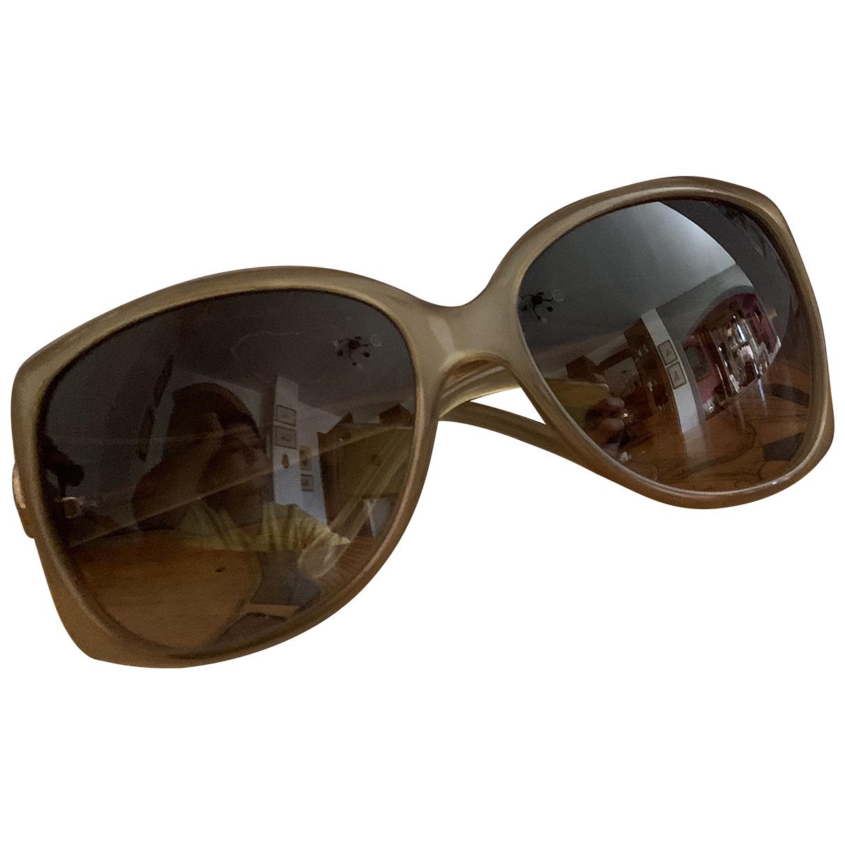 Gucci \N Sonnenbrillen in  Kamel Kunststoff