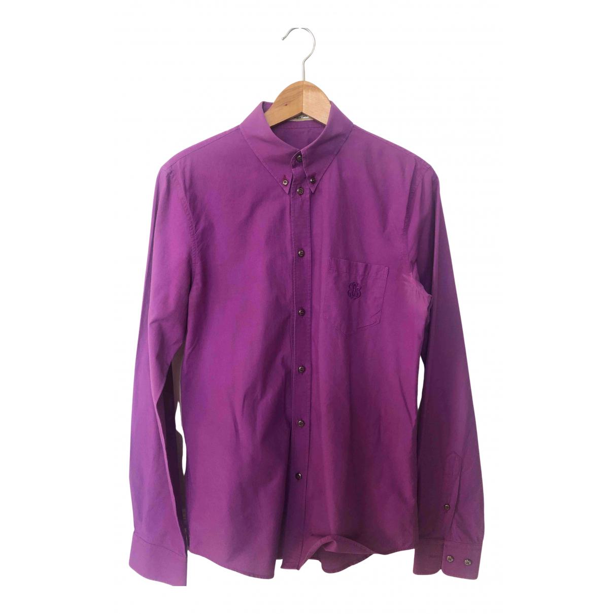 Balenciaga - Chemises   pour homme en coton - violet