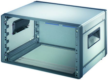 Schroff , 7U Rack Mount Case Comptec Ventilated, 331 x 520 x 500mm, Grey