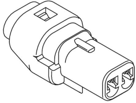Molex , Mizu-P25 Female Connector Housing, 2.5mm Pitch, 4 Way, 1 Row (5)