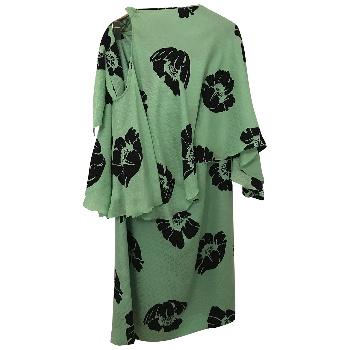 Loewe - Robe   pour femme en soie - vert