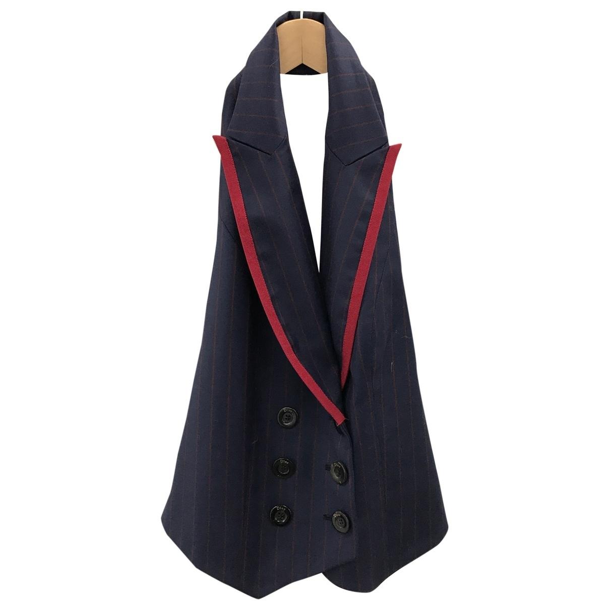Dior \N Navy Wool  top for Women 10 UK