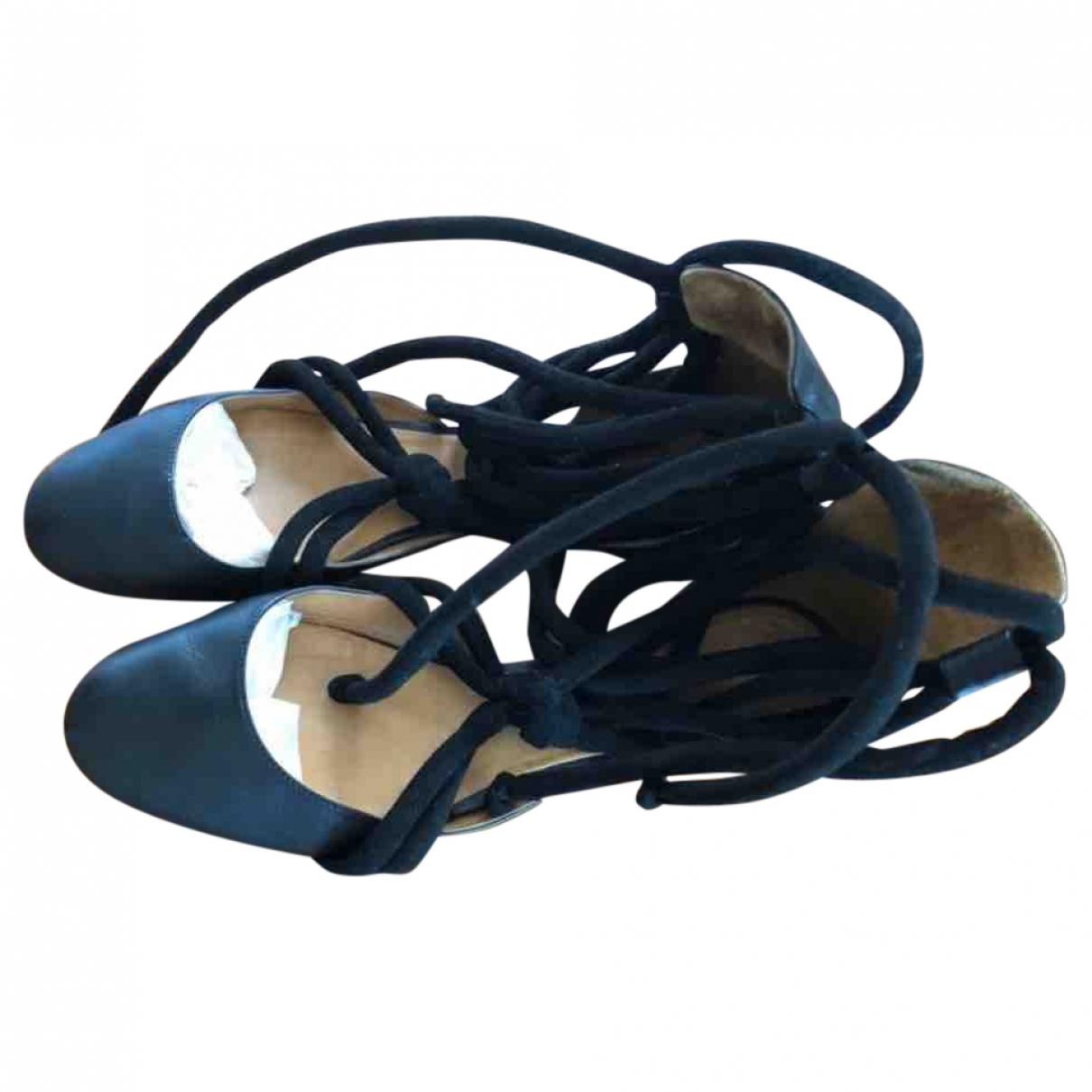 Isabel Marant - Ballerines   pour femme en cuir - noir