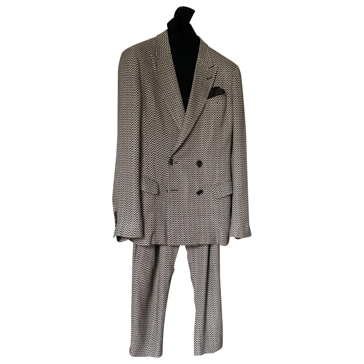 Giorgio Armani N Black Suits for Men M International