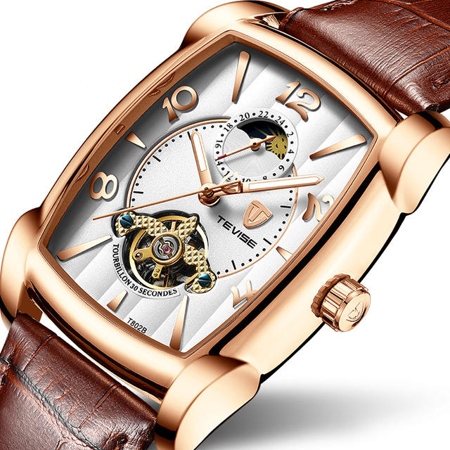 TEVISE T802B Business Style Automatic Mechanical Watch