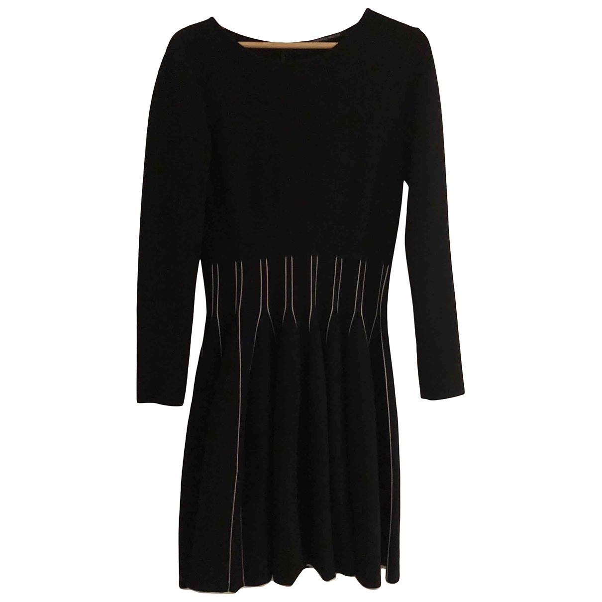 Antonio Valenti - Robe   pour femme en laine - noir