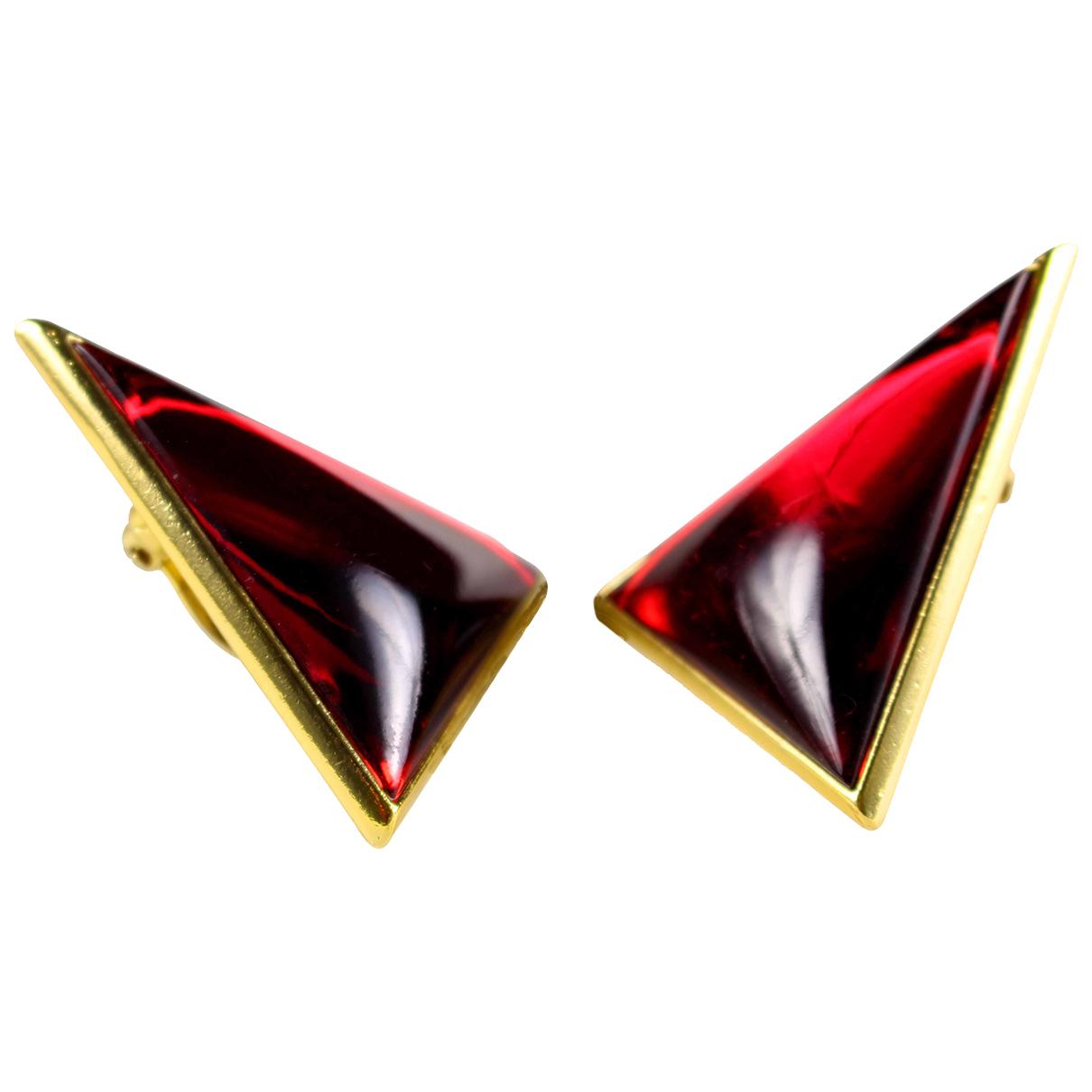 Yves Saint Laurent \N OhrRing in Metall