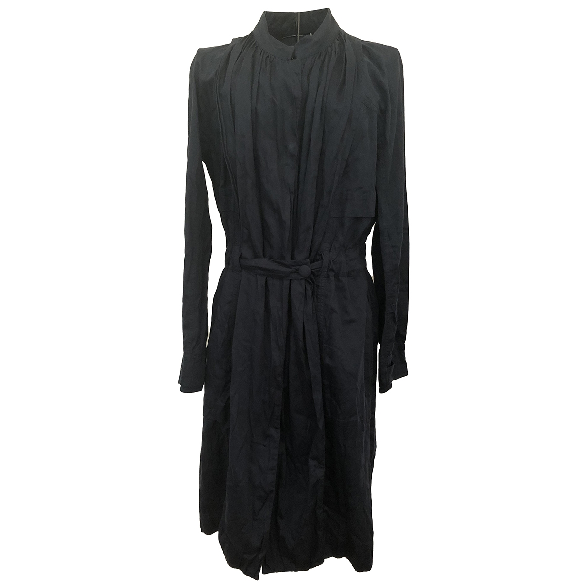 Lecoanet Hemant - Robe   pour femme en coton - marine