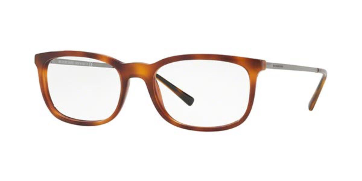 Burberry BE2267 3316 Men's Glasses Tortoise Size 53 - Free Lenses - HSA/FSA Insurance - Blue Light Block Available