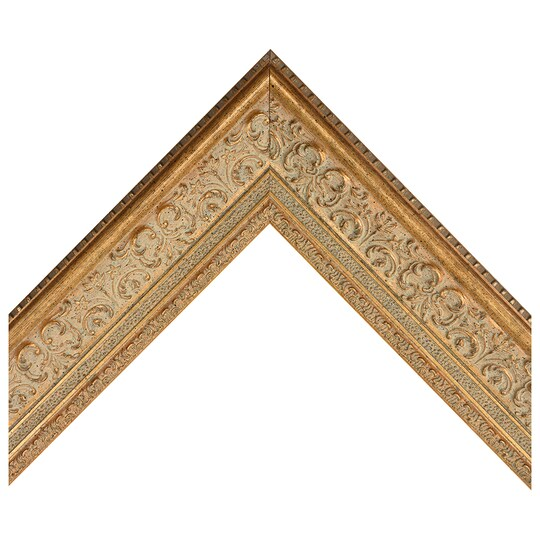 Antique Gold Ornate Scoop Custom Frame By Michaels® | 8 X 10 | Wood