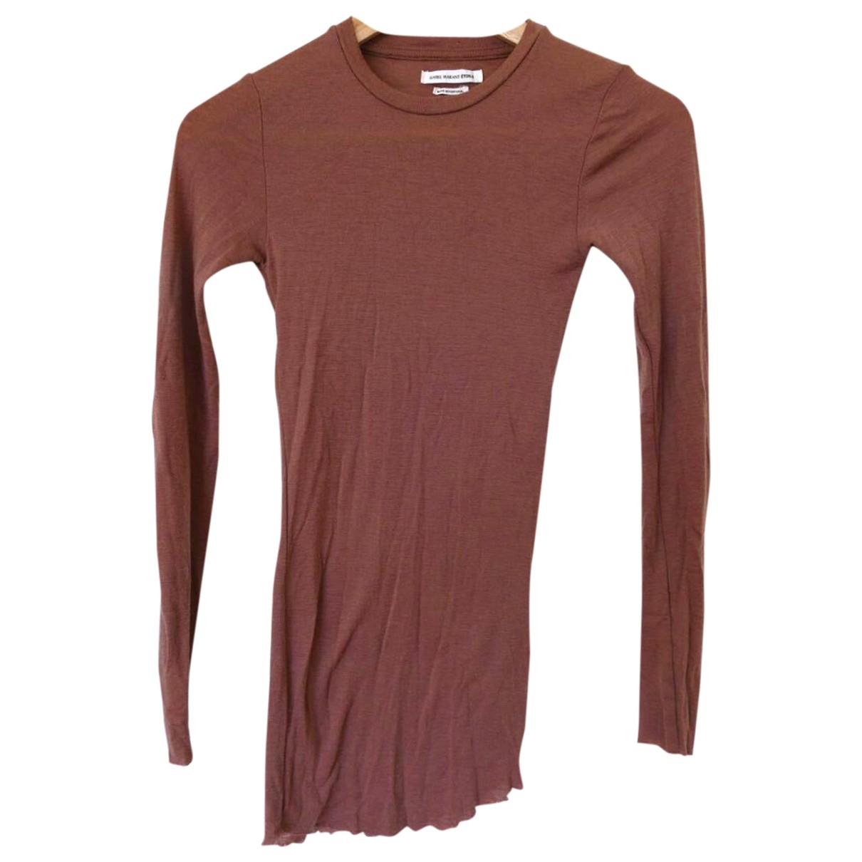 Isabel Marant Etoile \N Top in  Braun Wolle