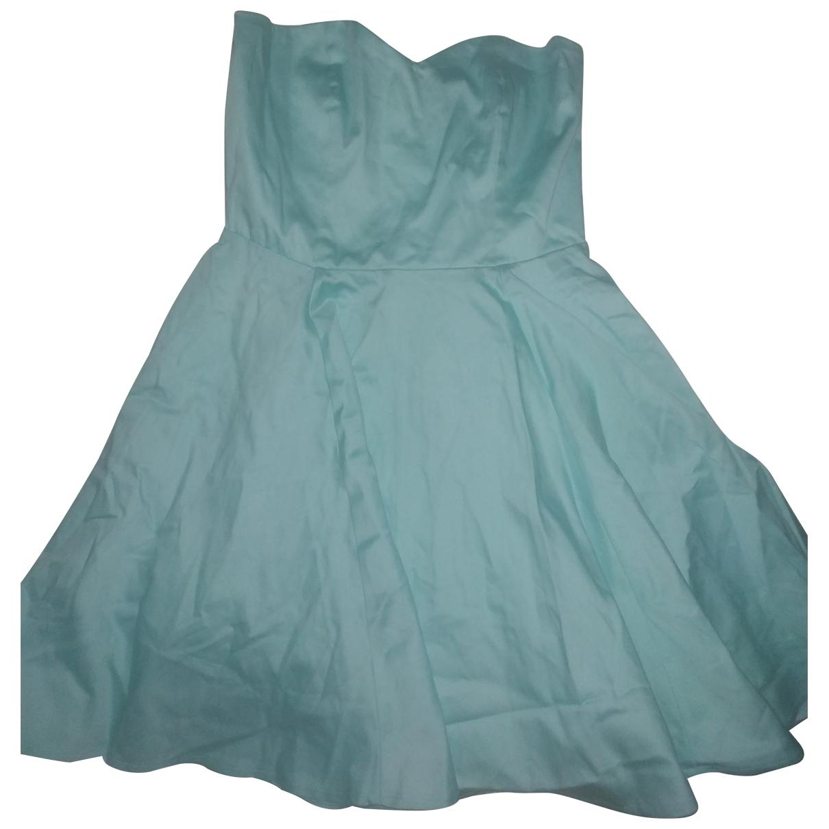 Asos \N Navy Cotton - elasthane dress for Women 6 UK