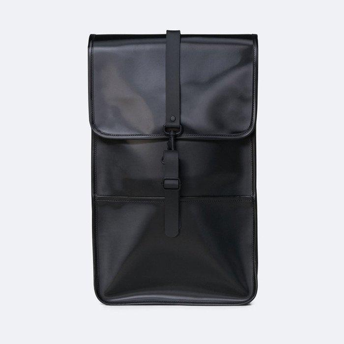 Rains Backpack 1220 SHINY BLACK