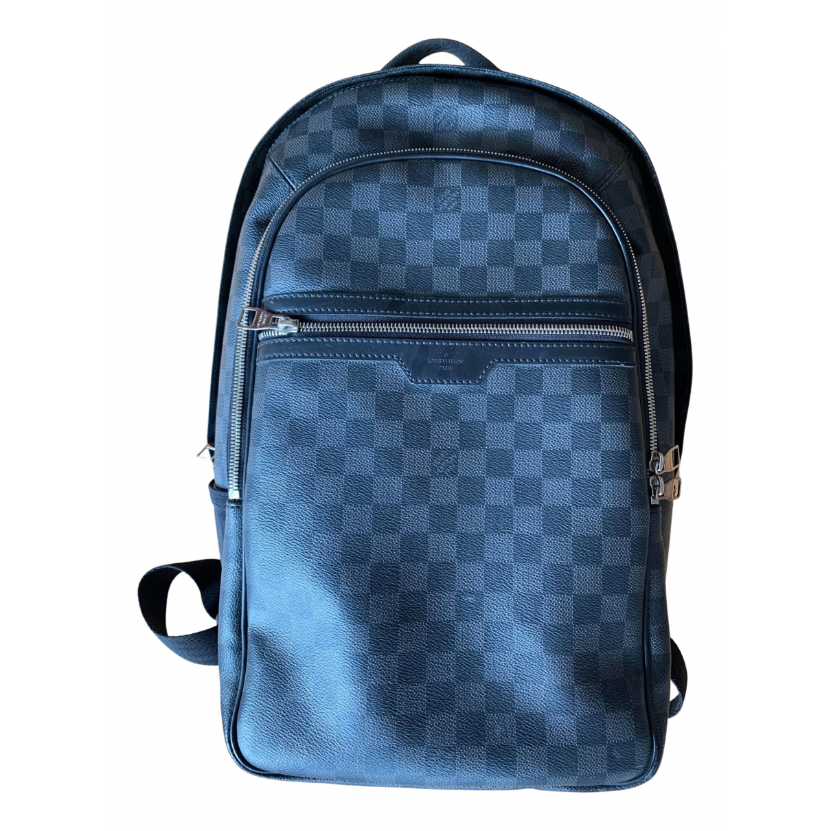 Louis Vuitton Michael Backpack Anthracite Cloth bag for Men N