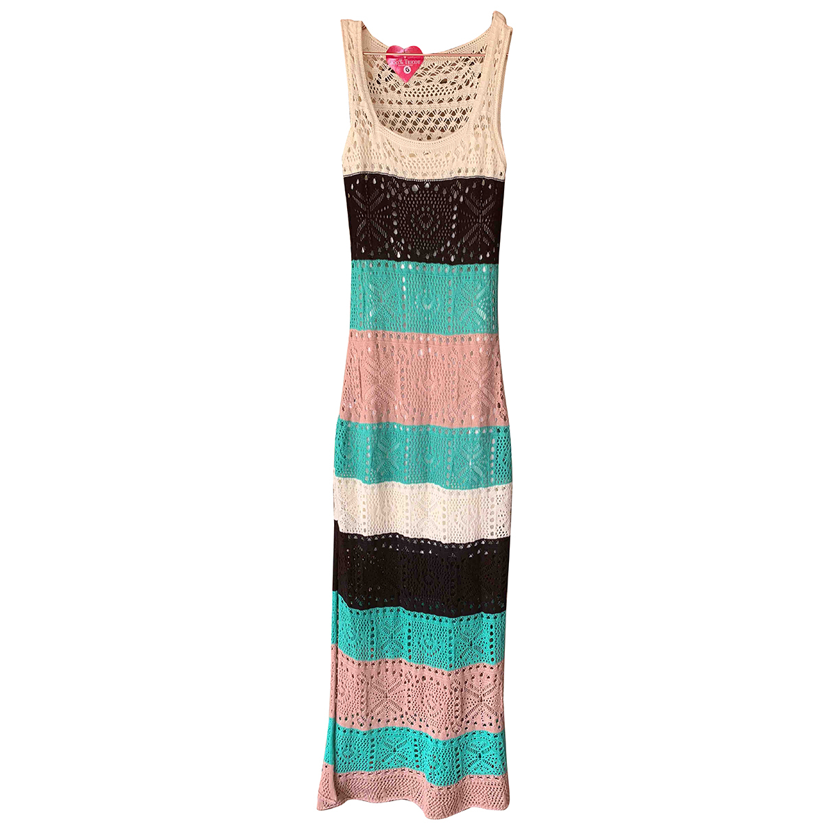 Non Signé / Unsigned Crochet dress for Women L International